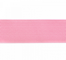 Резинка помочная розовая 40мм