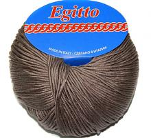 Пряжа Егитто (Egitto) 162 какао ( бобинная ,цена за 1 грамм)