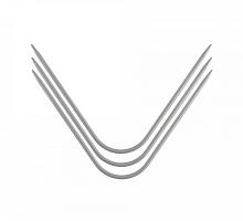 Спицы изогнутые AN-3 металл d 3.0 мм 20.5 см 3 шт