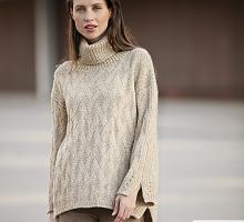 Пряжа Cotton-Merino, цвет 104 бежевый