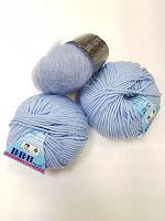 Набор для шапочки Juli-17 голубой: пряжа+описание