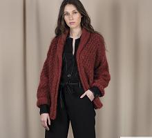 Пряжа Ингенуя Твид (Ingenua Tweed), цвет 106 красно/черный