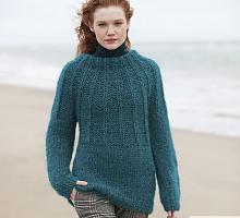 Пряжа Ингенуя Твид (Ingenua Tweed), цвет 108 бутылочный/коричневый