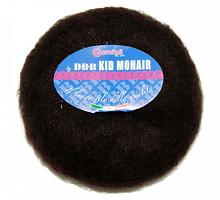 Пряжа Kid Mohair (Кид мохер) 104 коричневый