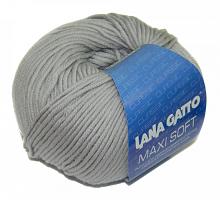 Пряжа Макси Софт (Maxi Soft) 12504 серый