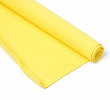 Фоамиран желтый 1 мм., 20х30 cм