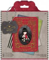 Набор заготовок для открыток с конвертами Simply Gorjuss, GOR150602