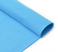 Фоамиран синий 1 мм., 20х30 cм