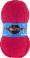 Пряжа ALASKA Nako, цвет 7119 красный