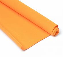 Фоамиран оранжевый 1 мм., 20х30 cм
