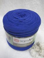 Трикотажная пряжа Maccheroni, цвет синий