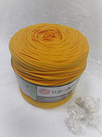 Трикотажная пряжа Maccheroni, цвет желток