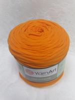 Трикотажная пряжа Maccheroni, цвет оранжевый