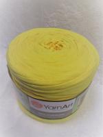 Трикотажная пряжа Maccheroni, цвет желтый