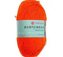 """""""Жемчужная"""", цвет 284 оранжевый"""
