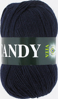 Пряжа Vita Candy, цвет 2502 темно-синий