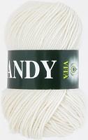 Пряжа Vita Candy, цвет 2501 белый