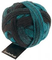 Пряжа Zauberball, 100 гр., цвет 2083 черно-бирюзовый