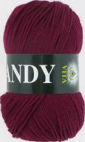 Пряжа Vita Candy, цвет 2508 бордовый