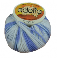 Adelia «LUCIA» № 123 белый-голубой-синий