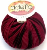Adelia «LUCIA» № 102 красный-черный-т.бордовый