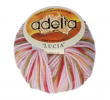 Adelia «LUCIA» № 195 св.розовый-оливковый-терракотовый-желтый