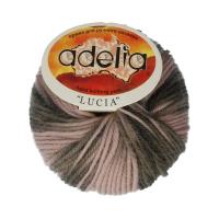 Adelia «LUCIA» № 157 бежевый-т.хаки-бл.зеленый