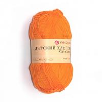 «Детский хлопок» № 485 желтооранжевый