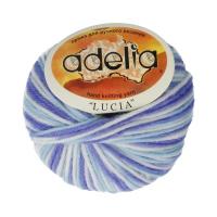 Adelia «LUCIA» № 525 белый-яр.голубой-сиреневый