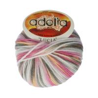 Adelia «LUCIA» № 140 белый-розовый-хаки-бежевый
