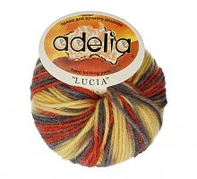 Adelia «LUCIA» № 121 желтый-оранжевый-серый