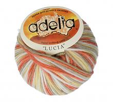 Adelia «LUCIA» № 523 белый-оранжевый-желтый-серый