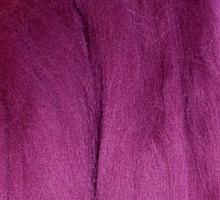 Пряжа LG_Wool (ЛГ Шерсть) для валяния 100% шерсть 100 г  1441 т.орхидея