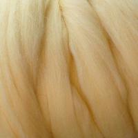 Пряжа LG_Wool (ЛГ Шерсть) для валяния 100% шерсть 100 г  0772 шампанское