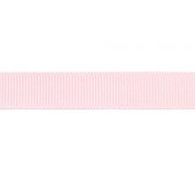 Лента репсовая 12 мм, бледно-розовый