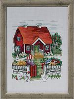 """Набор для вышивания """"Шведский домик"""""""