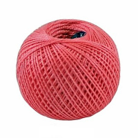 Пряжа Ирис, 100% хлопок 25гр. 1012 красно- розовый