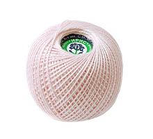 Пряжа Ирис, 100% хлопок 25гр. 1002(023) св.розовый