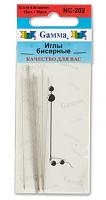 Иглы для бисера NC-202 10 шт
