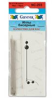 Иглы для бисера NC-203 10 шт