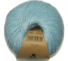 Пряжа Альпака Силк (Alpaca Silk), цвет 4995 небесно-голубой