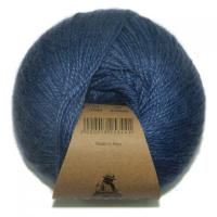 Пряжа Альпака Силк (Alpaca Silk), цвет 1549 джинсовый