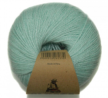Пряжа Альпака Силк (Alpaca Silk), цвет 2201 мята