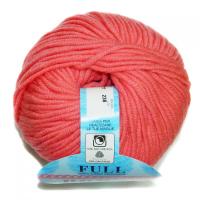 Пряжа Фулл (Full), цвет 8777 розовый-персик