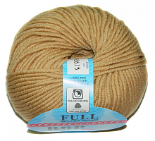 Пряжа Фулл (Full), цвет 2001 песочный