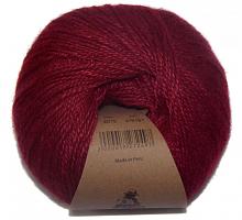 Пряжа Альпака Силк (Alpaca Silk), цвет 2015 бургунди