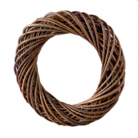 Венок из ивовых прутьев неочищенных, 20 см