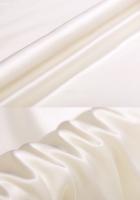 Креп-сатин, цвет молочный