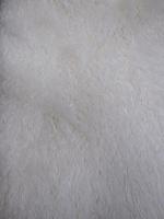 Мех искусственный овечка, цвет белый