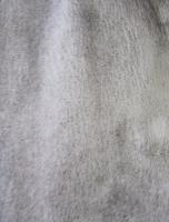 Мех искусственный норка бело-черная